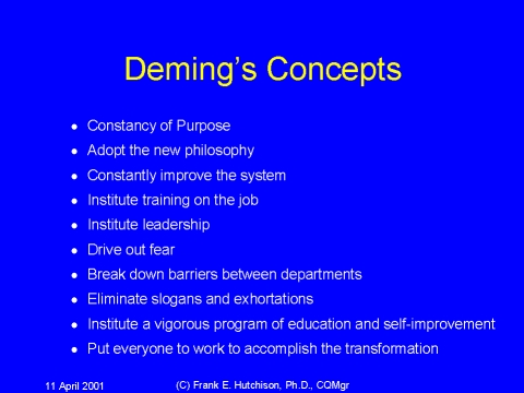 support deming manegement theory Kaoru ishikawa was one of the great both ishikawa and deming use this diagram as one the first knowing that without the support of the management.