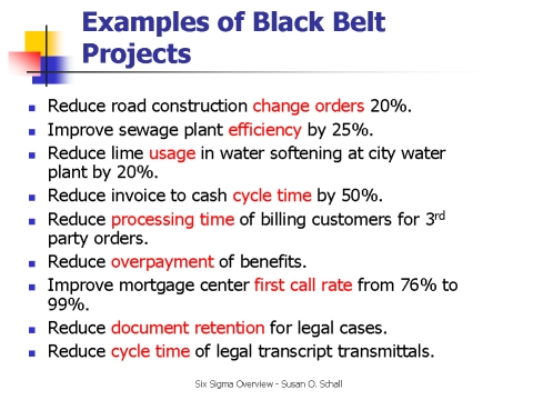 black belt analysis I six sigma - six sigma quality resources for achieving six sigma results via free articles, tools and resources.