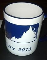 30th Anniversary Mug Left